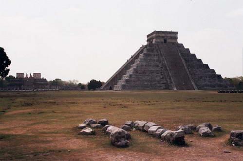 הפירמידה בצ'יצן איצה, מקסיקו