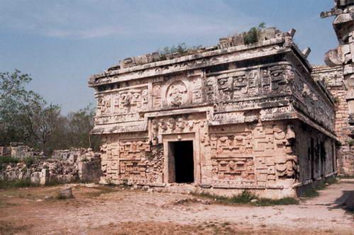 תבליטים באתר העתיקות צ'יצ'ן איצ'ה,  מקסיקו