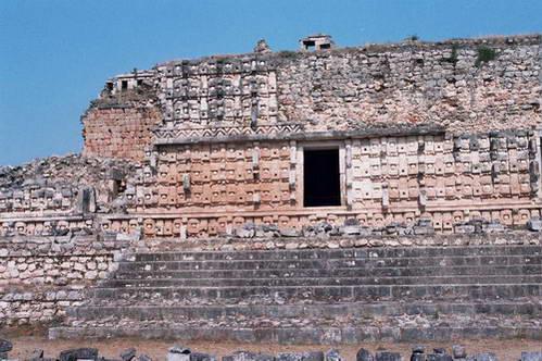 באתר העתיקות קאבה (Kabah), מקסיקו