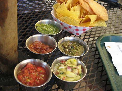מבחר סאלסות מקסיקניות