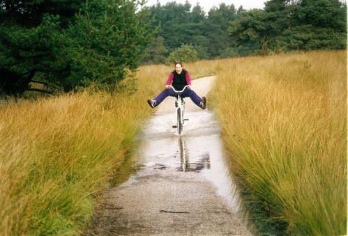 רכיבה בפארק הואה פלואה, הולנד