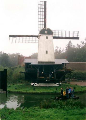 תחנת רוח במוזיאון הפתוח בארנהם, הולנד