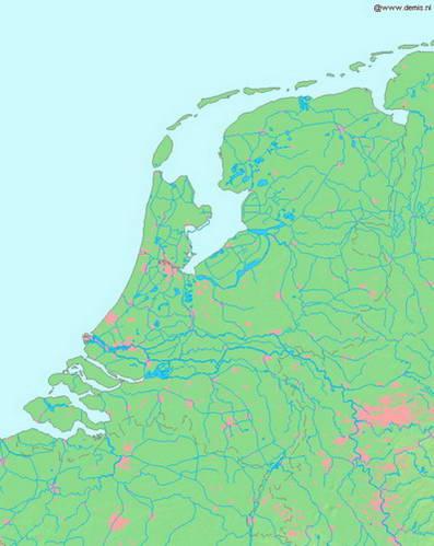 נהרות הולנד