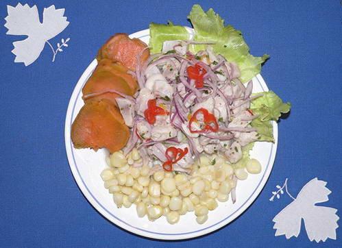 סביצ'ה פרואנית, המטבח הפרואני