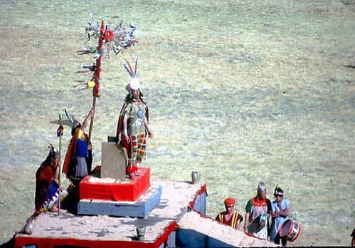 תפילת בן אל השמש - האינקה, חגיגות האינטי-ראיימי בקוסקו, פרו