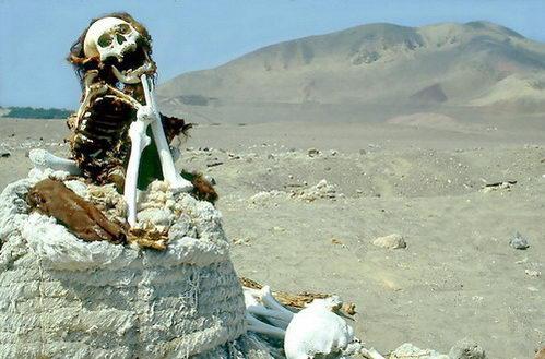 קברי נאסקה, צ'אוצ'ילה, פרו