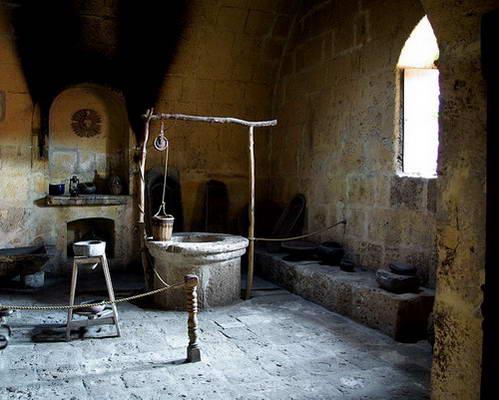 מטבח מנזר סנטה-קטלינה בארקיפה פרו