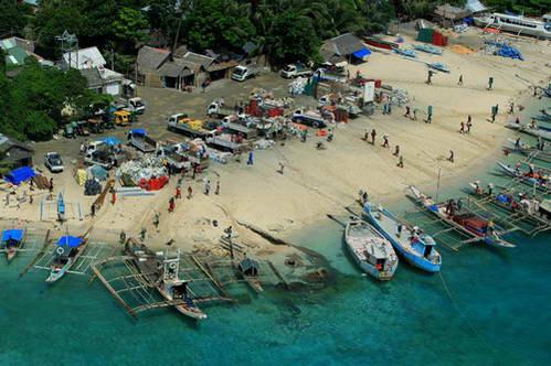 חופי בורקאי מהאויר, הפיליפינים