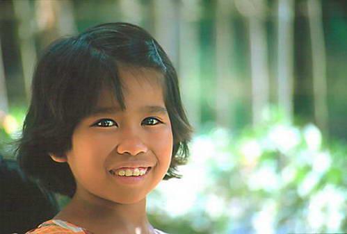 ילדה פיליפינית
