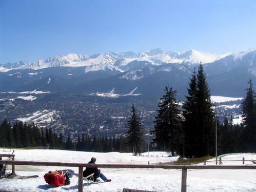 אתר הסקי זקופנה ורכס הרי הטטרה, פולין