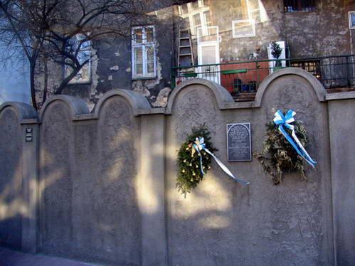 שיחזור חומות הגטו של קרקוב