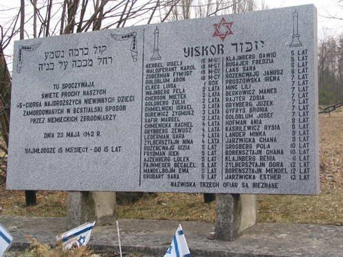 האנדרטה לזכר נרצחי פוגרום קיילצ'ה