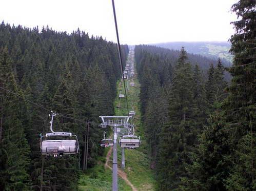 רכבלי אתר הסקי יאסנה, מאפשרים טיול נינוח בהרים