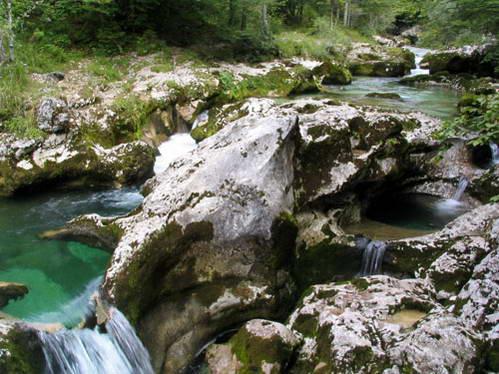 קניון מוסטניצה, אזור בוהין, סלובניה