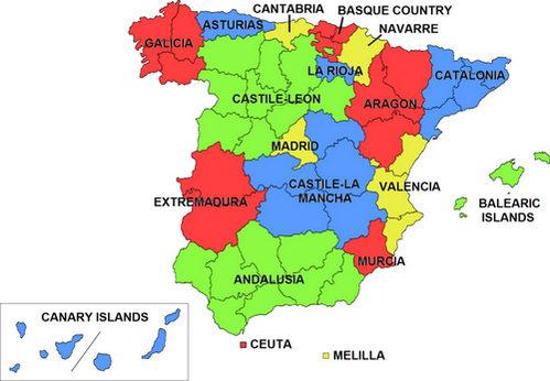 הקהילות האוטונומיות של ספרד