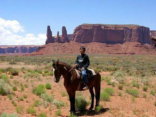 מונומנט ואלי, פינת ארבע המדינות בתחומי שמורת הנאוואחו