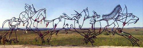 הנצחת שדה הקרב בליטל ביגהורן שבמיניסוטה