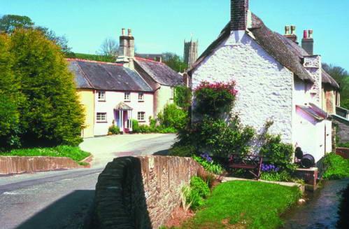 כפר במחוז דבון, אנגליה
