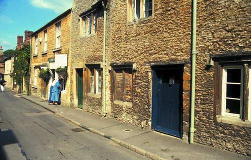 עיירה טיפוסית במחוז דבון, אנגליה