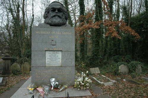 קברו של קארל מרקס, הייגייט, לונדון