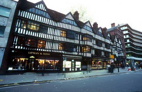 בתים עתיקים בלונדון