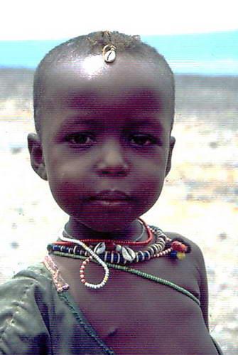 ילדים באזור טורקאנה