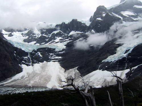 קרחונים, טורס דל פיינה, פטגוניה, צ'ילה