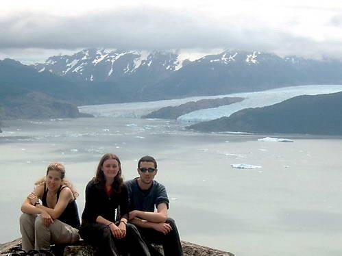 קרחון גריי, אגם גריי, טורס דל פיינה, פטגוניה, צ'ילה