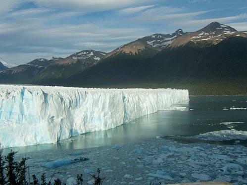 פוריטו מורנו, הקרחון המתנפץ, ארגנטינה