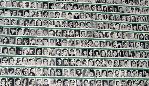 קיר נעדרי המלחמה, כיכר ה-25 למאי, בואנוס איירס