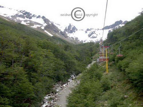 טרק Martial glacier, אושואיה, ארגנטינה