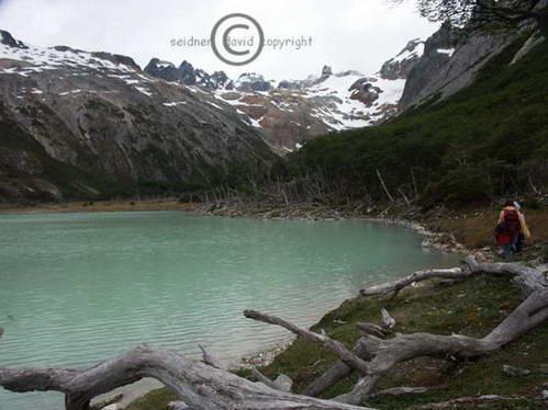 לגונה, טרק Albino Glacier, אושואיה, ארגנטינה