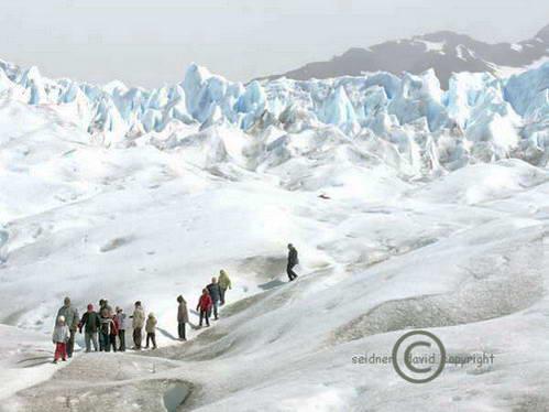 טרק על קרחון פוריטו מורנו, ארגנטינה