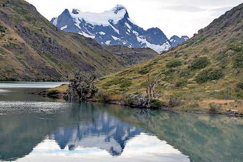 אגמים, לגונות, טורס דל פיינה, פטגוניה, צ'ילה