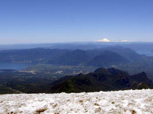 תצפית, הר הגעש וייאריקה, פוקון, צ'ילה