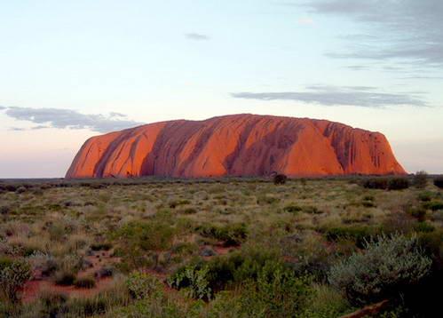 סלע אולורו, איירס-רוק, אוסטרליה