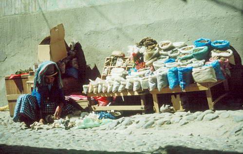שוק המכשפות בלה פאז, בוליביה