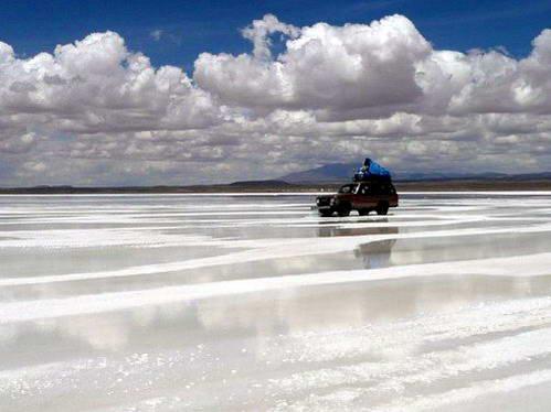טיול ג'יפים במדבר הסלאר בבוליביה