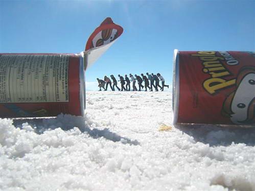 אשליות אופטיות בסלאר, צילום בסלאר, בוליביה