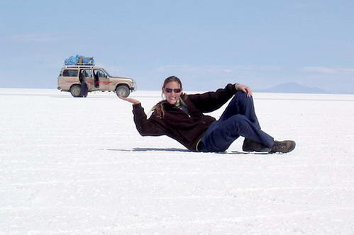 שעשועי פרספקטיבה, תמונות פרספקטיבה במדבר הסלאר בבוליביה