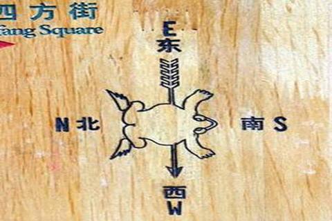הכיוונים הסינים על פי האל הצפרדע
