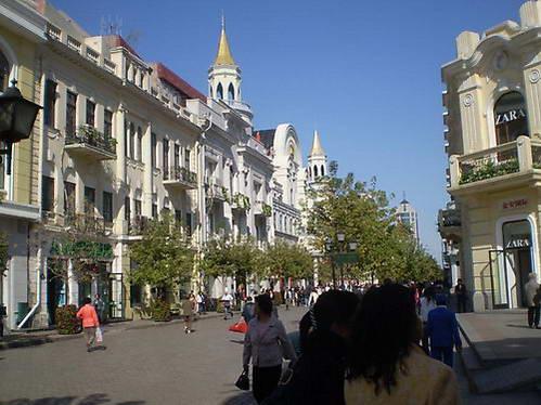 מדרחוב דאו-לי-צ'ו  בחרבין
