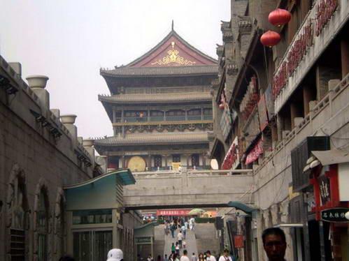 מגדל הפעמון בלב העיר ש'יאן