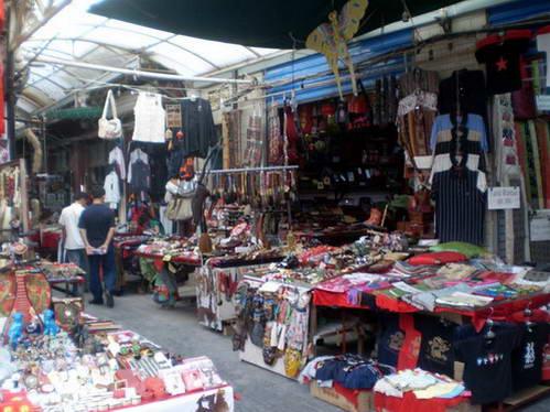 השוק המוסלמי בעיר העתיקה בש'יאן
