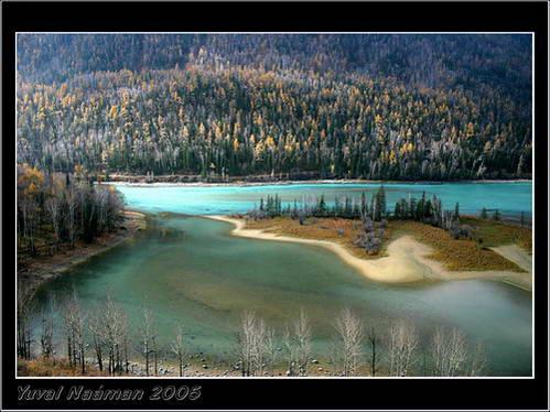 שמורת אגם האנאסי, בגבול סין עם קזחסטן, רוסיה ומונגוליה