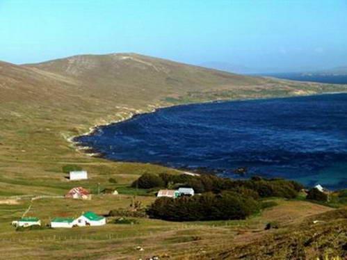 האי קרקס, איי פוקלנד
