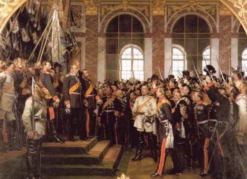 הכרזת הרייך השני על ידי אוטו פון ביסמרק