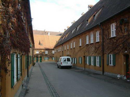 בתי פוג'ר באוגסבורג, גרמניה