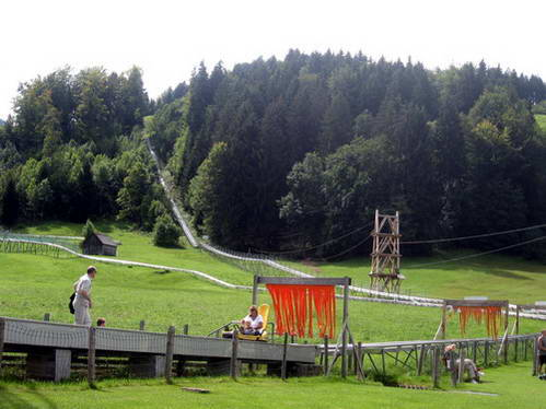 מגלשות הרים, לטייל עם ילדים בגרמניה