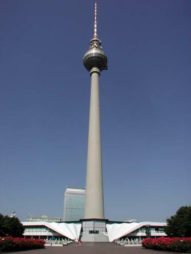 המסעדה על מגדל הטלביזיה בברלין, גרמניה